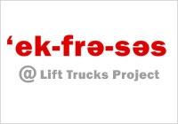 Ekphrasis @ Lift Trucks Project